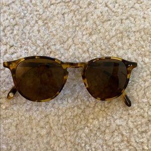 Garrett Leight tortoise frame sunglasses